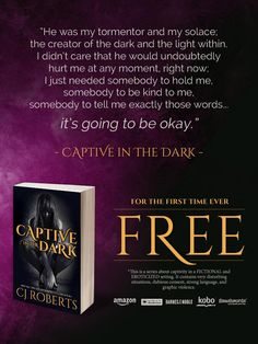 Captive in the Dark #FREE 4 first time. Read. Review. Repeat with the rest of the Dark Duet. https://goo.gl/Cgstl0