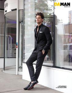 """Garrett Neff in """"The Return of the Super Male Model"""" by Mitchell Nguyen McCormack for Da Man August-September 2013"""