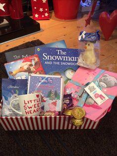 Christmas Eve Box PJ's, movie, snacks for movie, Christmas bedtime story defo doing this for Ashley