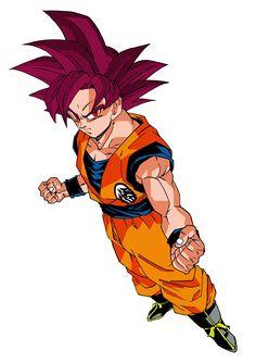 Goku SSJ God (Universo 7)