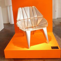 Lieblingsstuhl Exhibition June 2013 - Aluminium Chair Bauhaus Art, Original Design, Young Designers, Chair Design, Vintage Designs, June, Traditional, Classic, Furniture