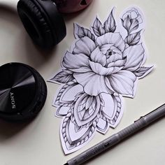 "78 Likes, 2 Comments - ТАТУИРОВКА В МОСКВЕ (@mambamur) on Instagram: ""⚫️ My lines  #tattoo #delicate #tattooed #whipshading #ink #tattooinspiration #peony #peonytattoo…"""