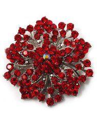 Victorian Corsage Flower Brooch