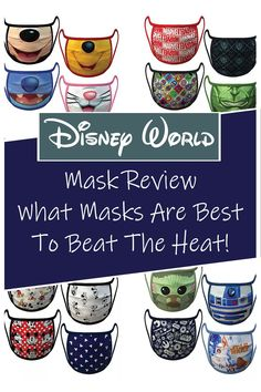 Disney World can get very hot and humid during the day. We've reviewed several different masks in the heat and have choose the perfect one for both the Disney parks and your plane ride.    |Disney masks| What masks to wear to Disney World| Face mask review| Disney Dining Tips, Disney On A Budget, Disney Planning, Disney World Tips And Tricks, Disney Tips, Disney Stuff, Walt Disney World Vacations, Disney Parks, Disney Travel
