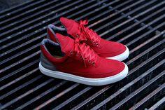 RF X Filling Pieces Low Top - Red | Shoes | Kith NYC  ahhhhhhhhhhh