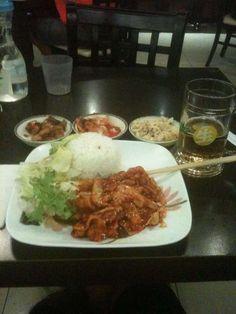 Madtongsan II - Korean food on Elizabeth St in the city.