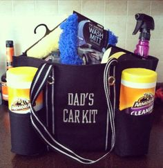 Thirty One for Dad too. Organizing Utility Tote in Spirit Black