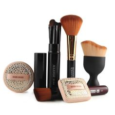 New Arrival Top Popular Women 10pcs Makeup Brushes for Face Puff Make Up Foundation Brush Beauty Essentials maquiagem 8.22