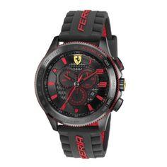 #Montre :Chrono Scuderia XX Ferrari en fibre de carbone Rouge NEW - Ferrari Store