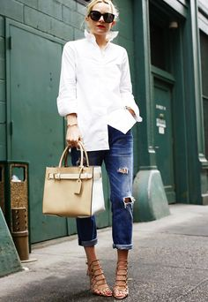 9 Outfit Formulas Every Woman Should Have on Hand via @WhoWhatWear