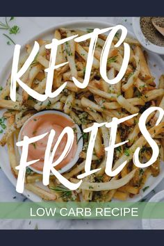 Keto french fries low carb keto diet recipe ketosis fitness diet is part of pizza - pizza Low Carb Keto, Low Carb Recipes, Diet Recipes, Vegetarian Recipes, Healthy Recipes, Vegetarian Dish, Keto Side Dishes, Diet Plan Menu, Vegan Keto