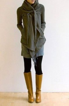casual winter outfit just my style
