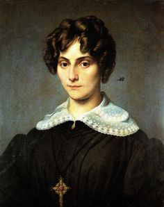 Hayez Francesco Ritratto di Antonietta Valaperta Bolongaro Crevenna, 1824