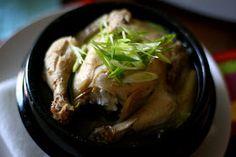 Simply June: Samgyetang (Korean Ginseng Chicken Soup)