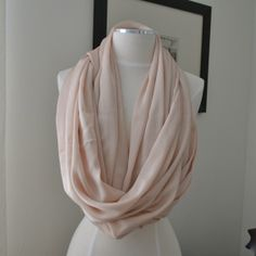 The Fab and Frugal   DIY Infinity Scarf No Sew