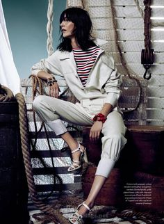Janice Alida por Owen Bruce para Elle Canadá Maio 2015 [Editorial] – Bloginvoga | The Latest Fashion News and Trends