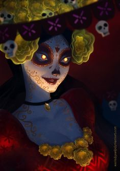 La Muerte by sscindyss.deviantart.com on @DeviantArt