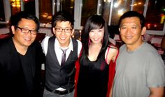 """Hot off the heels of his successful """"Unveiled"""" EP, the swanky and gorgeously appointed XIV restaurant from world-renowned chef Michael Mina was the setting to celebrate international superstar Brian Joo's album release and Unveiled Tour. Privy teamed up with SBE to put together a top-shelf members only experience right in the heart of one of the most buzzed about restaurants in Los Angeles. http://www.privy.net/magazine/go/society_events/Brian-Joo-XIV"""