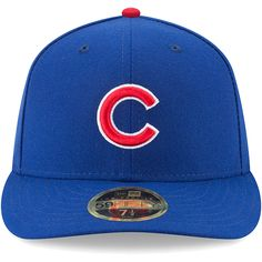 58be4a78e5f Men s Chicago Cubs New Era Royal MLB 150th Anniversary Authentic Collection  Low Profile 59FIFTY Fitted Hat