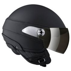 NEXX Hugo Boss HB01 Black Satin Open Face Motorcycle Helmet