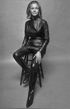 Honor Blackman...my first leather lady... Honor Blackman (born 22 August 1925)] is a British actress, known for the roles of Cathy Gale in The Avengers (1962–64) and Bond girl Pussy Galore in Goldfinger (1964). She is also famous for her role as the vengeful goddess Hera in the Ray Harryhausen, Charles H. Schneer, production of Jason and the Argonauts.