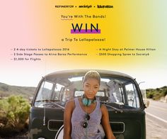 Win a trip to Lollapalooza in Chicago from Refinery 29!