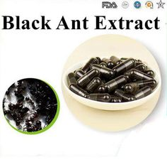 hot Factory supply Black Ant Sex Pills/Black Ant Extract/Black Ant capsule 500mgX 200pcs