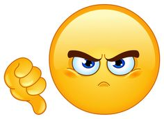 Angry Smileys and Emoticons. These smileys are very angry and you can see that in their face expression. Smiley Symbols, Emoji Symbols, Funny Emoticons, Funny Emoji, Big Emoji, Facebook Emoticons, Images Emoji, Hd Images, Smiley Emoticon