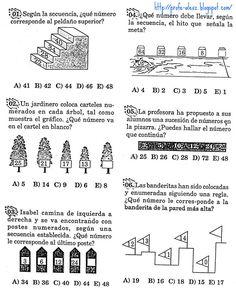 Sucesiones Alfanumericas - Problemas Resueltos - Razonamiento Matematico « Blog del Profe Alex