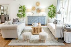 Masters of Flip Farmhouse Feels renovation living room couches