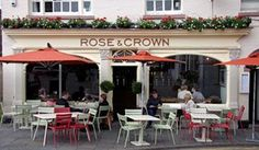 Restaurant in Warwick - The Rose & Crown Places To Eat, Great Places, Rose Crown, Birmingham, Restaurant, Spaces, Outdoor Decor, Beautiful, Home Decor