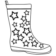 Rain boots coloring page clipart panda free clipart images the boot kidz outline of wellington bootstencil for colouring clipart best clipart best maxwellsz