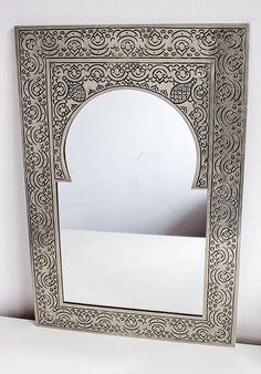 Vintage Moroccan Mirror 'Mystery'  Medium