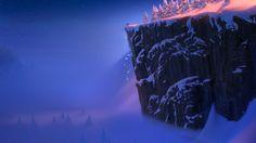 Disney Frozen Scenery Wallpaper