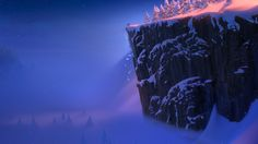 Disney Frozen Scenery Wallpaper