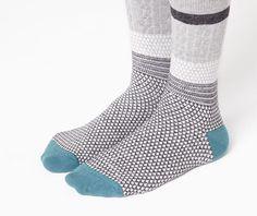 Pack of jacquard braid socks - OYSHO