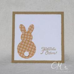 Ich hatte Euch ja bereits Anfang April die Osterkarten mit den kleinen Hasen darauf gezeigt. Ich habe inzwischen noch weitere Farbkombinationen ausprobiert, die ich Euch gerne zeigen möchte: [galle…