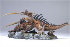 McFarlane's Hunter Dragon Clan Statue   Dragon Clan Sculptor Karl ...