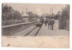 Somerset /& Dorset and G.W.R Highbridge Railway Map /& Art Poster