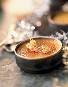 Recette crème brûlée au foie gras - Cuisine et Vins de France