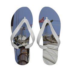 Sail Away Flip Flops