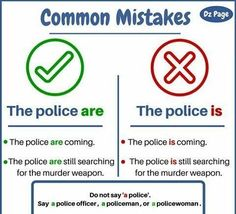 Common mistakes #learnenglish