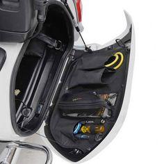 47f6a8a30f0 Saddlemen Saddlebag Organizer Set - Honda GL1800 Goldwing Models (12 and  newer) Shoei Helmets