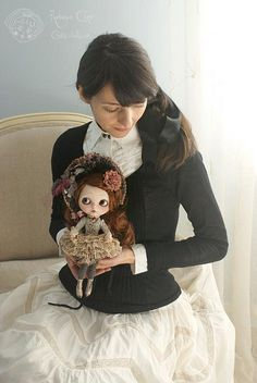 Some time ago  Sauco & me  Rebeca Cano ~ Cookie dolls  https://www.facebook.com/CookieDolls
