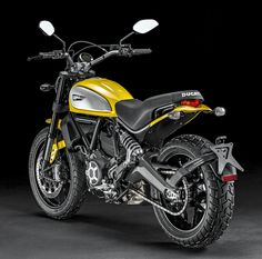 DUCATI Scrambler Icon, '62 Yellow