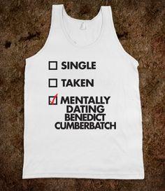 Mentally Dating Benedict Cumberbatch