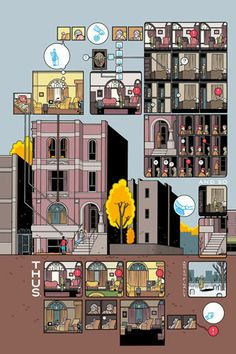 Limited Edition Chris Ware Prints | from Griffioen Grafiek