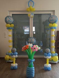 Baby Shower Balloon Idea for Baby Boy