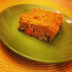 I Don't Go to the Gym: Ground Turkey Sweet Potato Shepard's Pie - only 309 calories!    #healthy #eatclean