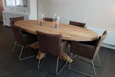 OVAAL Dining Table, Foyer, Holland, Furniture, Home Decor, The Nederlands, Dinning Table, The Netherlands, Interior Design